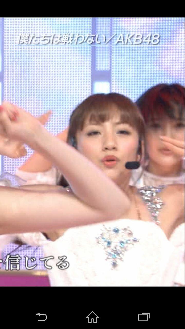 「UTAGE!」僕たちは戦わないを歌うAKB48・高橋みなみ