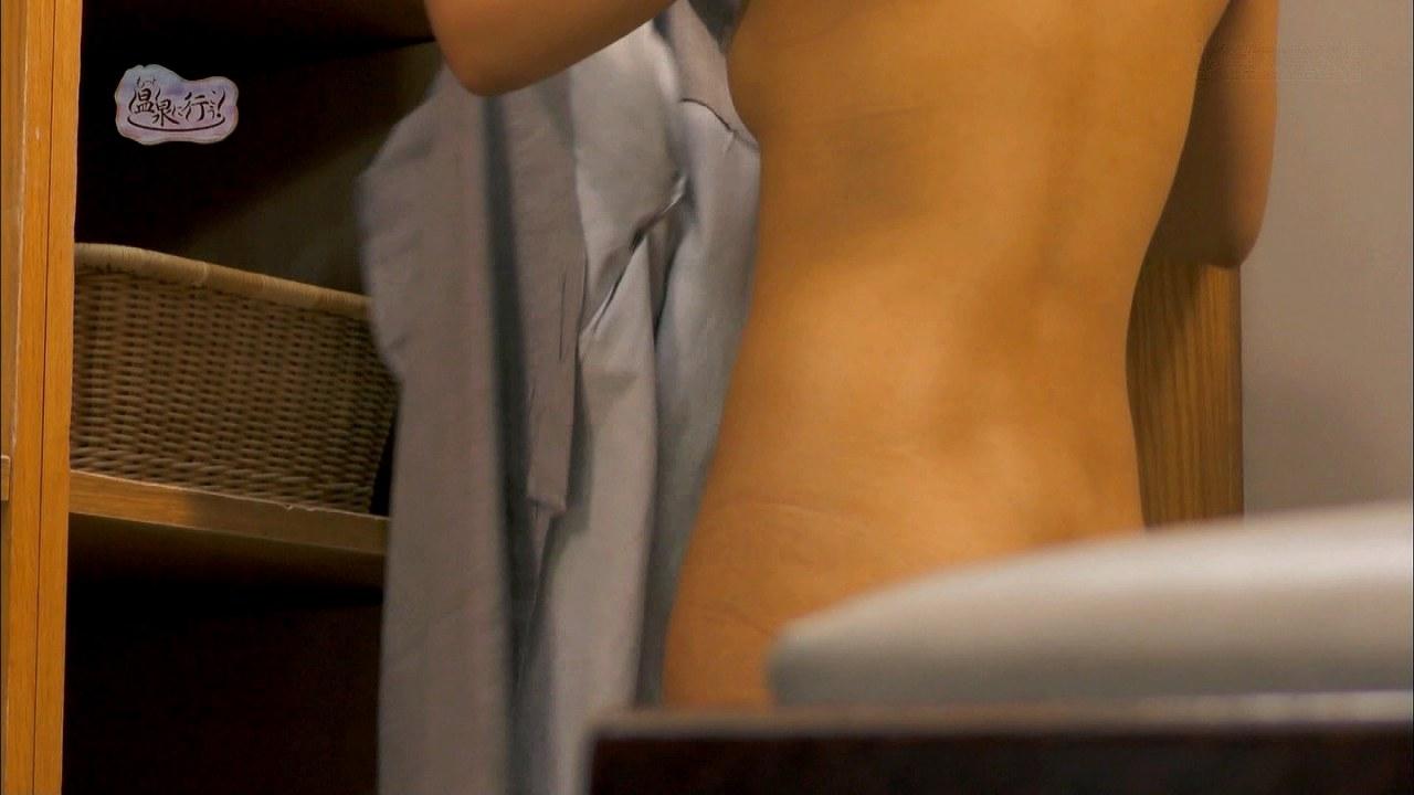 「もっと温泉に行こう!」全裸入浴する可愛い女の子の全裸、生々しい下着のあと