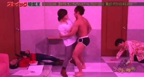 テレ東「ゴッドタン」、AV男優しみけんに駅弁されてしまうオアシズ大久保佳代子