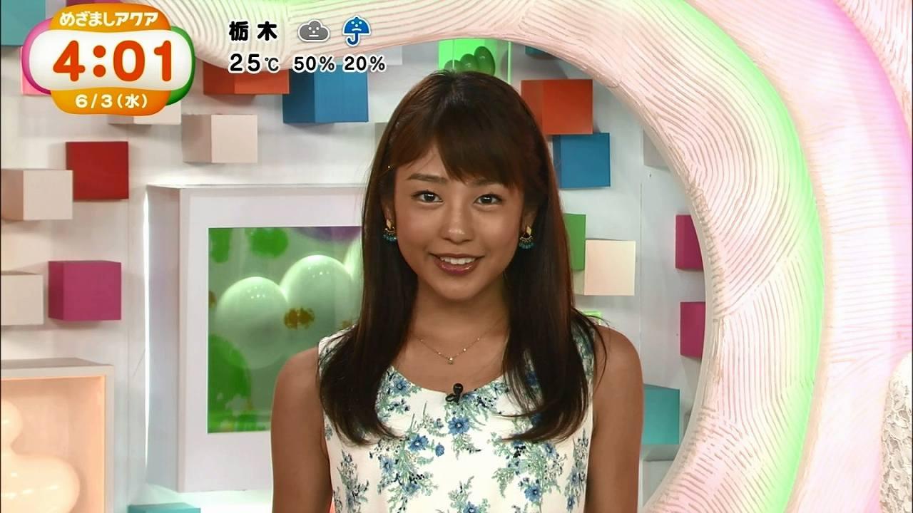 「目覚ましアクア」の岡福麻希アナが真っ黒になってる