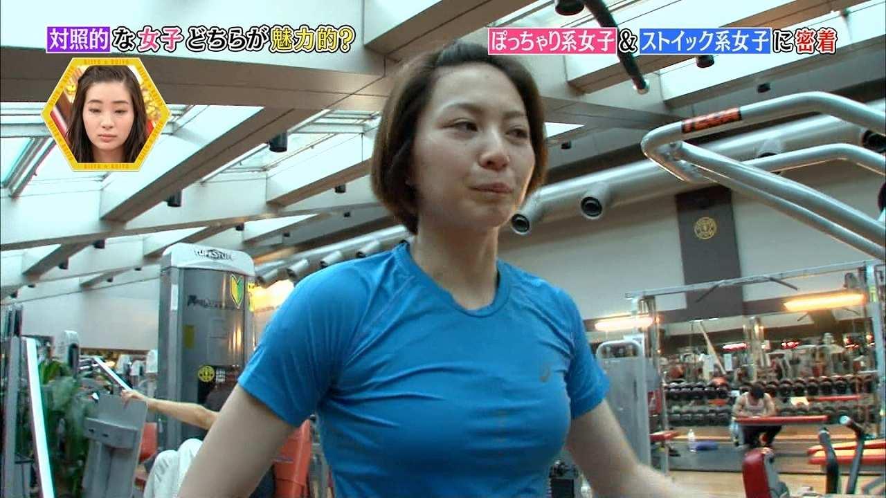 「村上マヨネーズのツッコませて頂きます!」にストイック系女子として出演した元女子バレー選手の滝沢ななえ