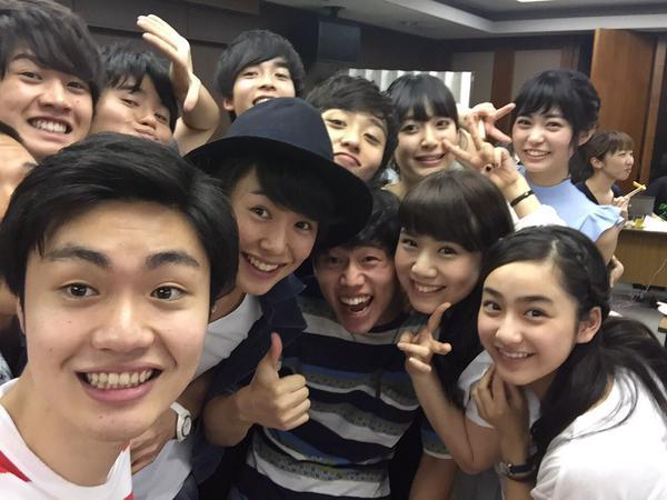 NHK「Rの法則」出演者の楽屋