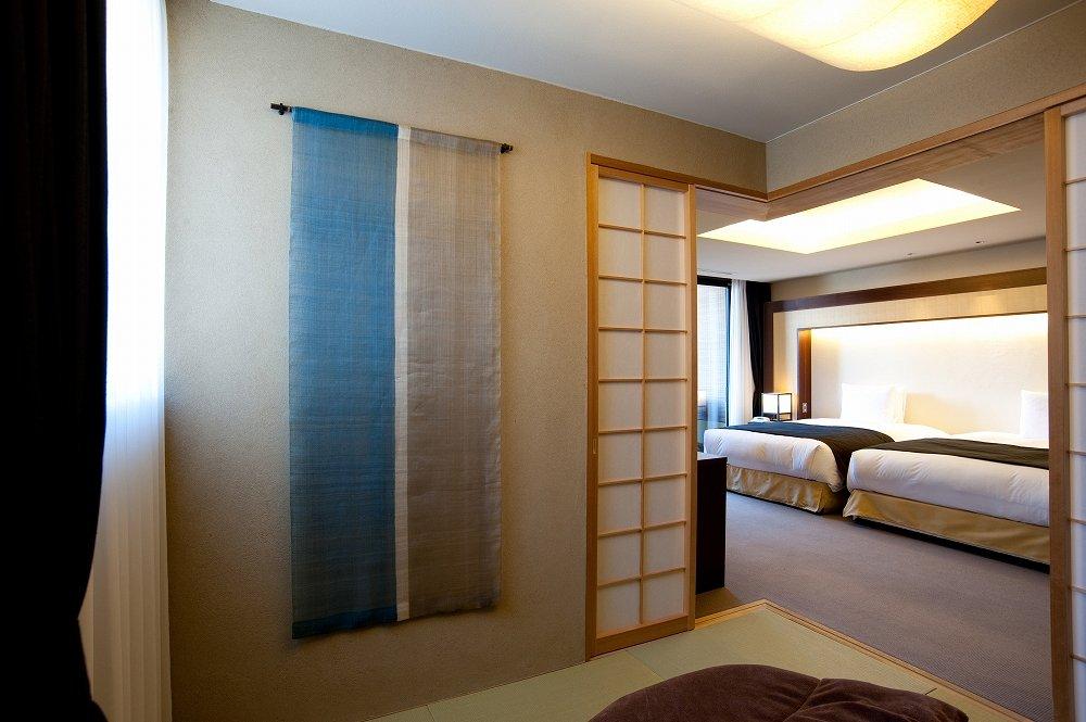 箱根・箱根翠松園「康」のベッドルーム