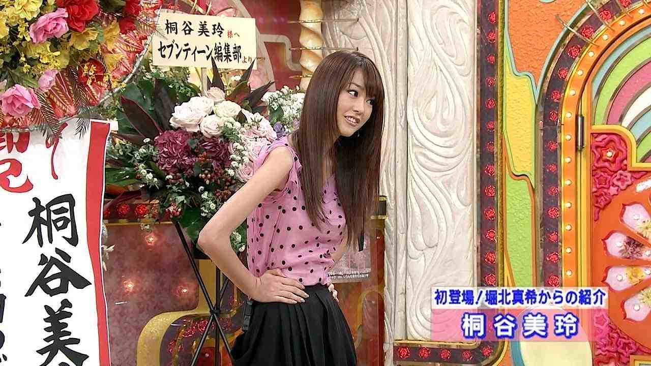「笑っていいとも」のテレフォンショッキングに出演した桐谷美玲