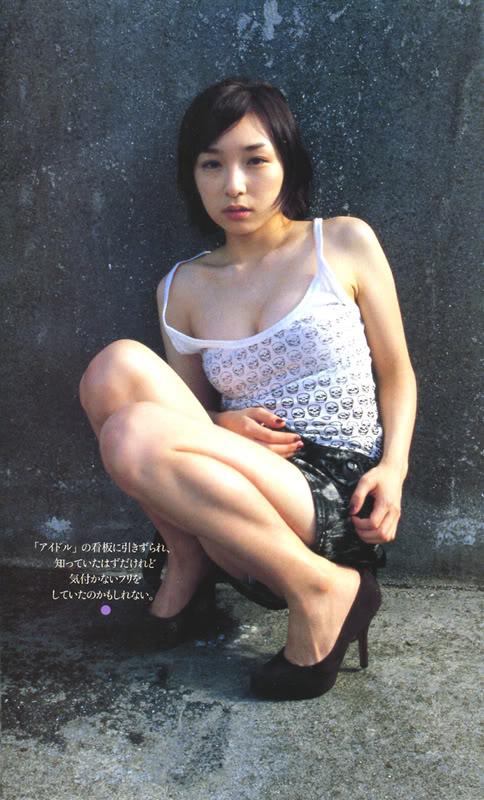 「月刊加護亜依」、加護亜依のセミヌード