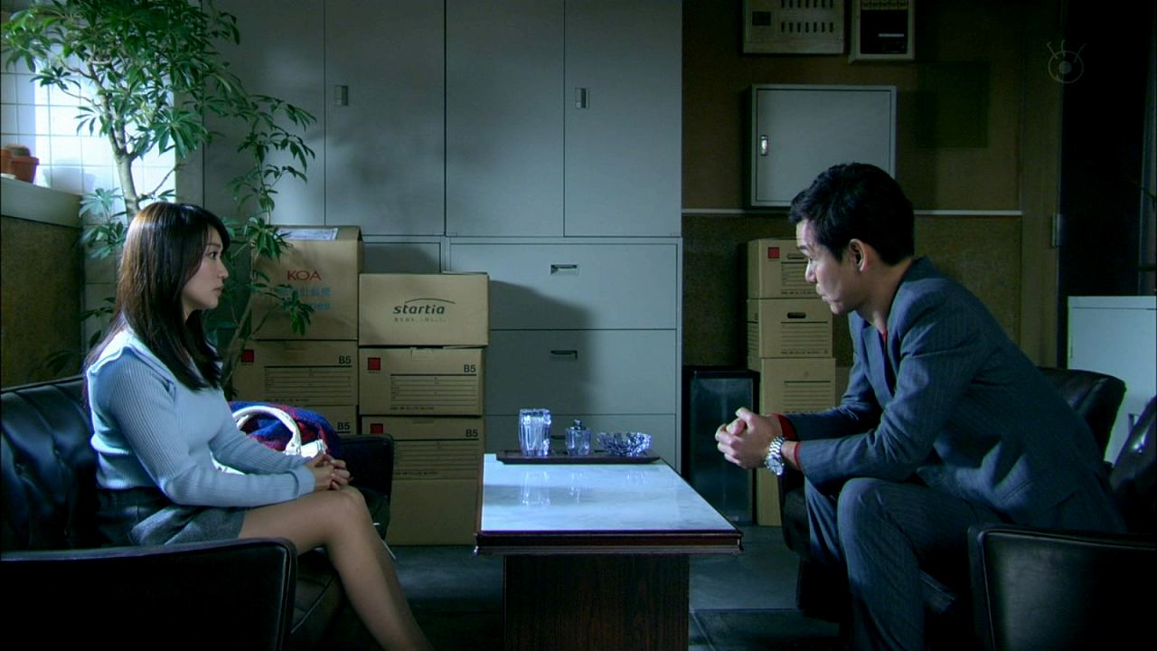 ドラマ「銭の戦争」、ロケット乳化した大島優子の横乳