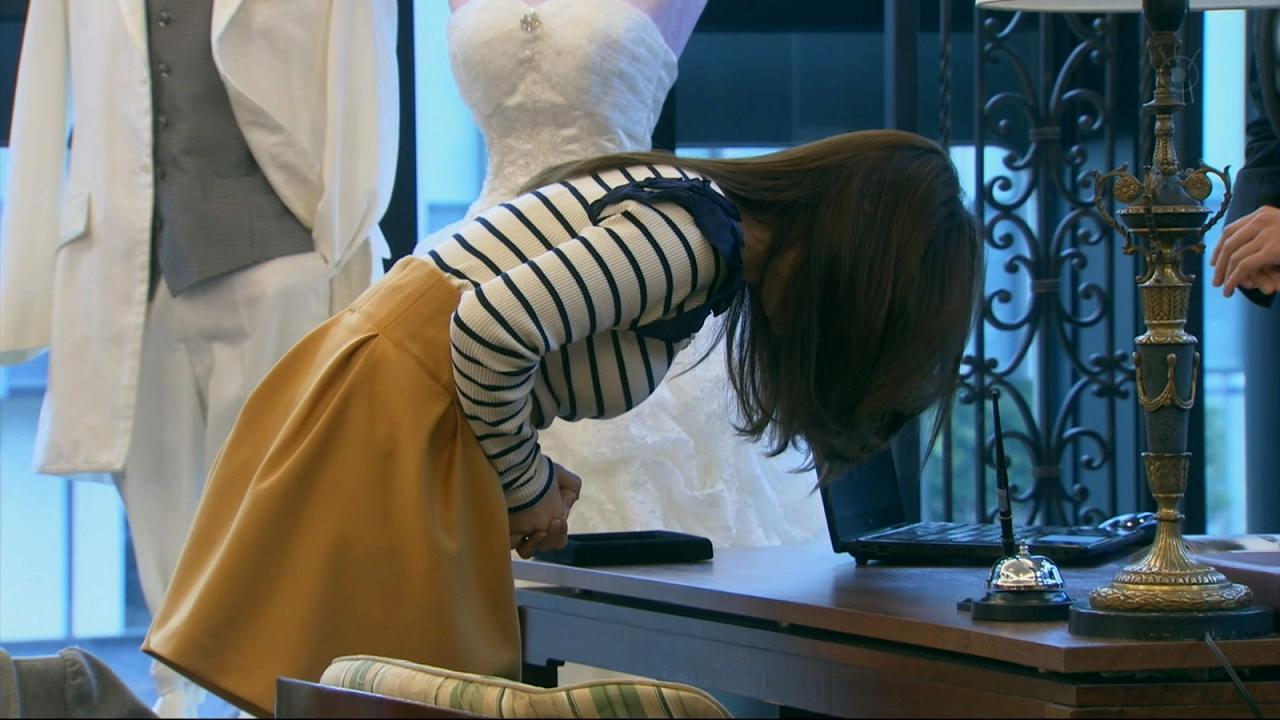 ドラマ「銭の戦争」、爆乳化した大島優子の横乳