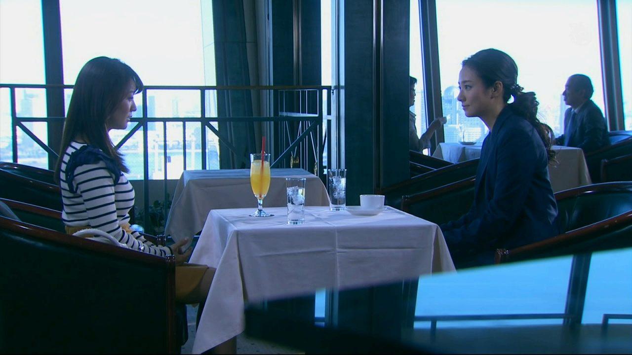 ドラマ「銭の戦争」の木村文乃と大島優子、巨乳化した大島優子の横乳