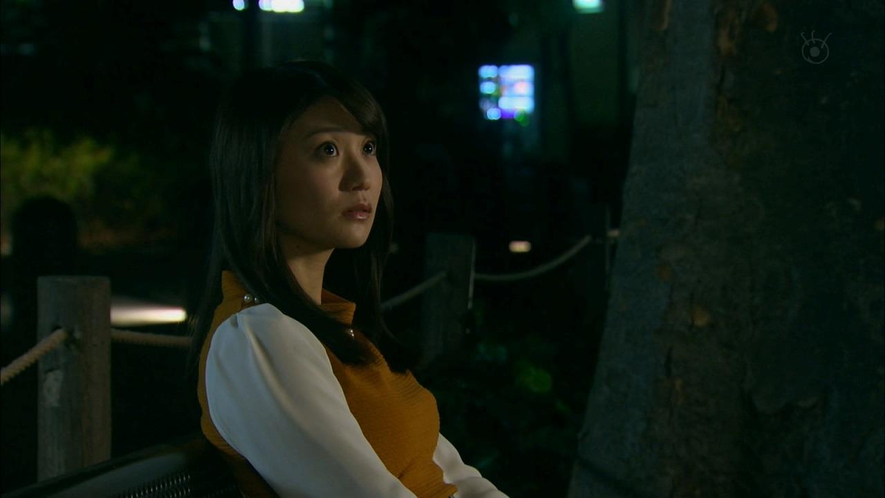 ドラマ「銭の戦争」、大島優子の着衣巨乳