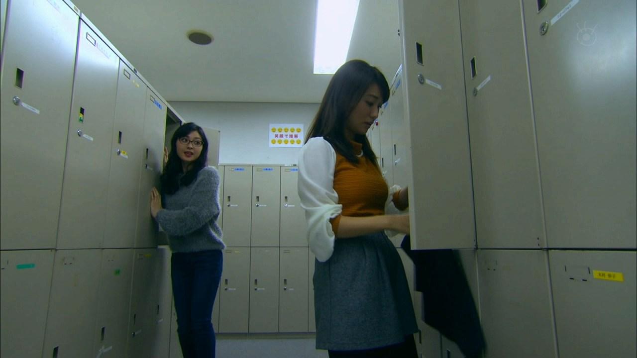 ドラマ「銭の戦争」、巨乳化した大島優子の横乳