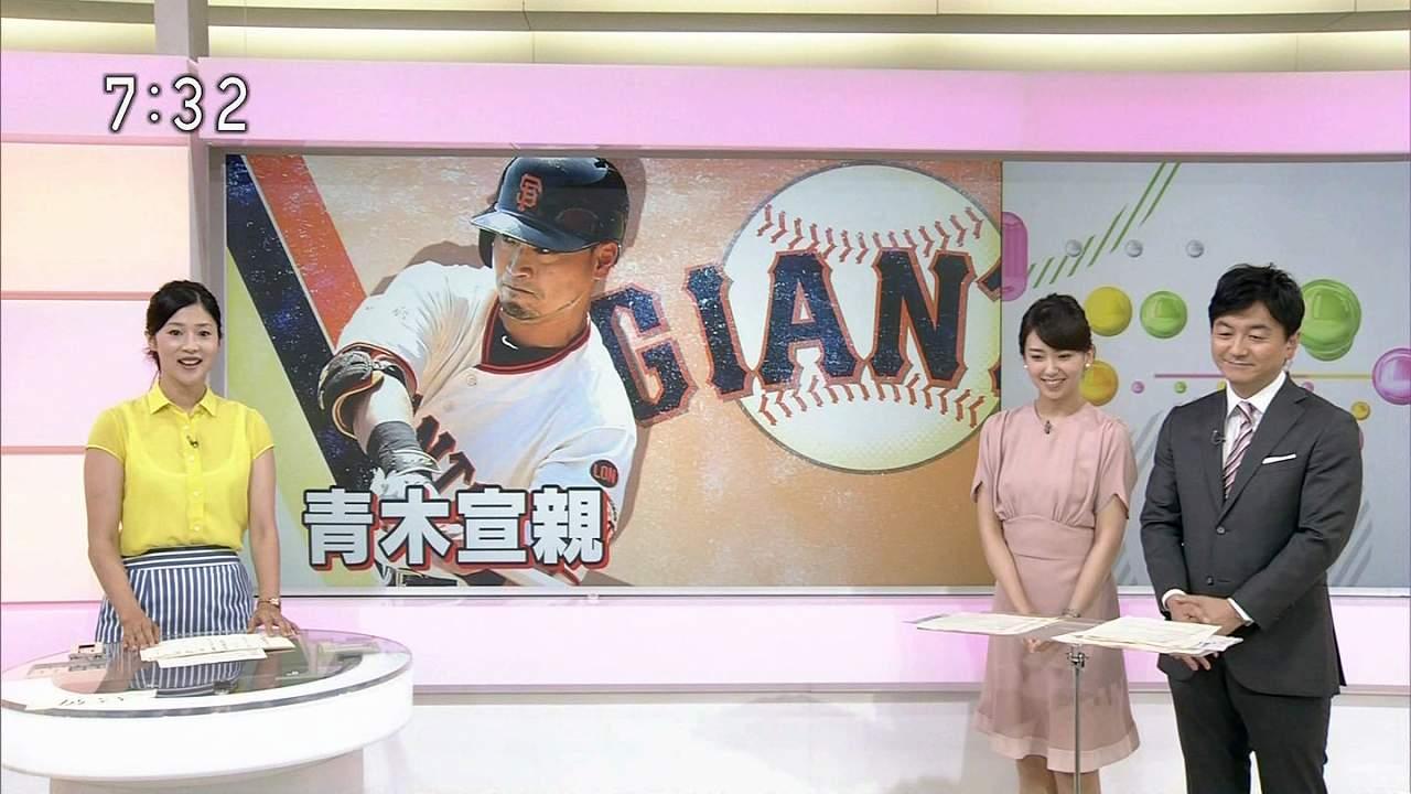 NHK「おはよう日本」で女子アナの森花子のブラウスがスケスケ