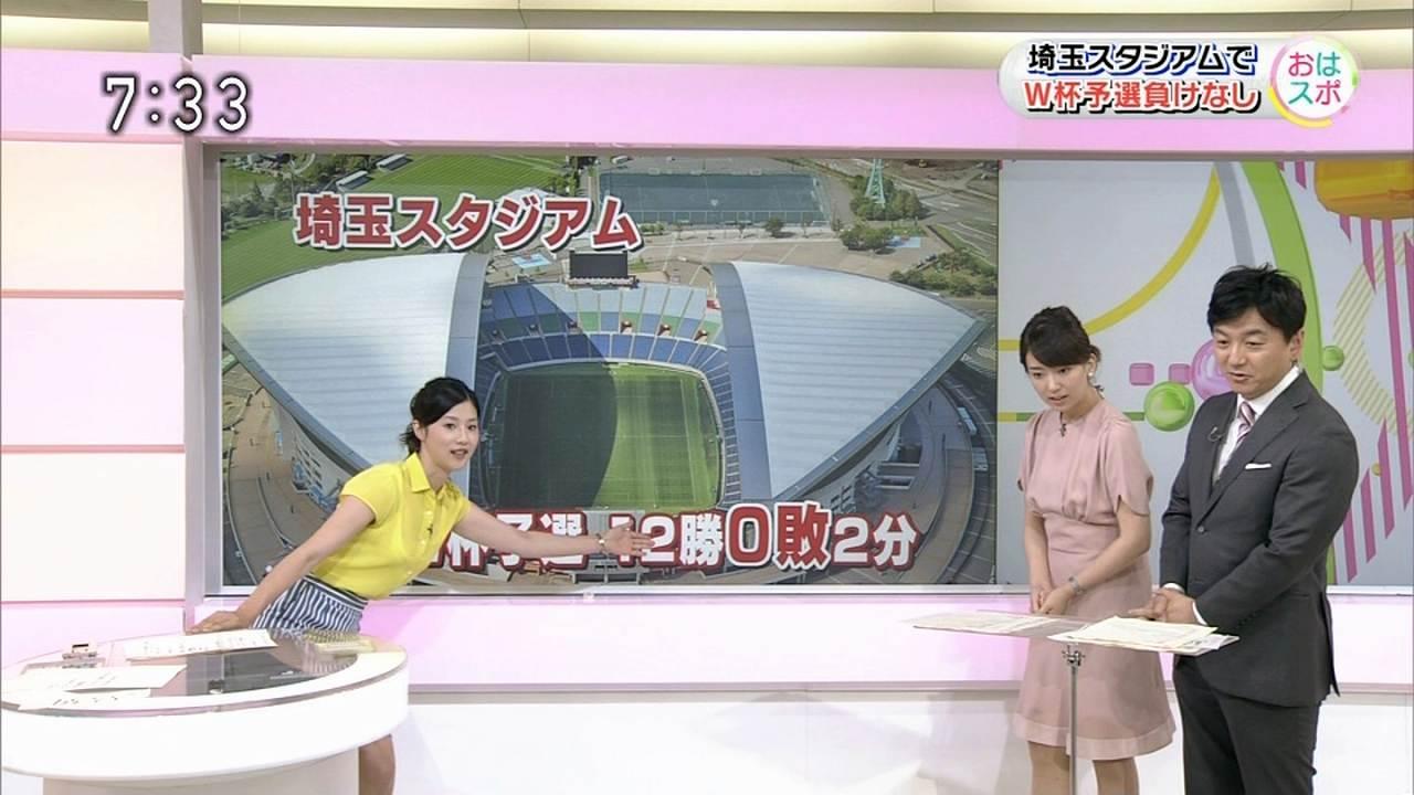 NHK「おはよう日本」で透けたブラウスを着た森花子アナ