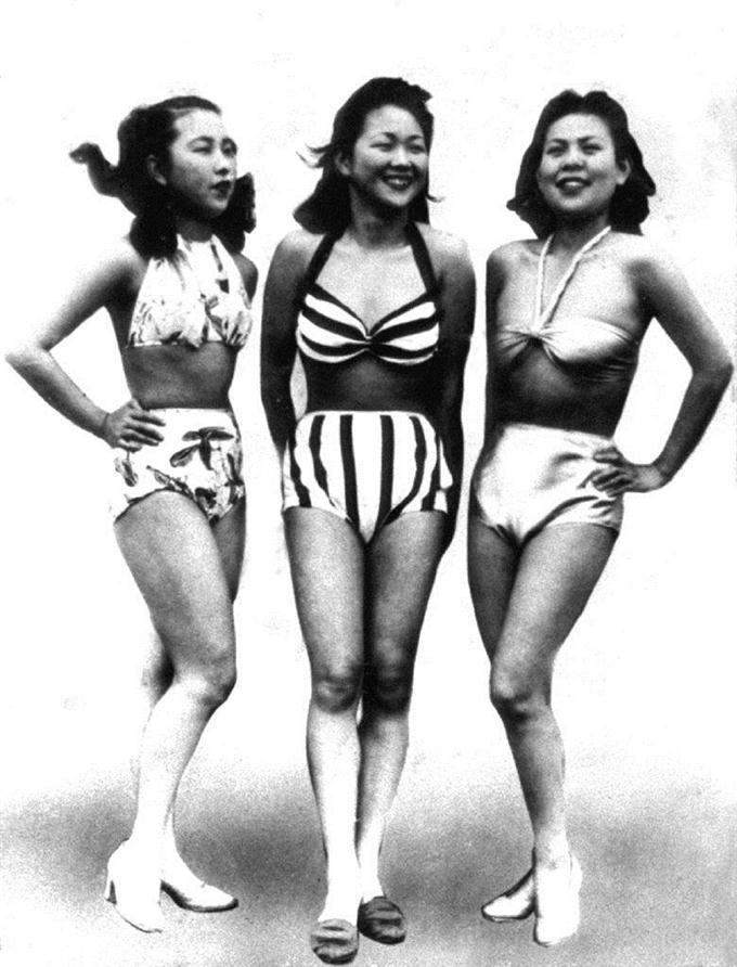 1946年の日本の水着(セパレート水着)