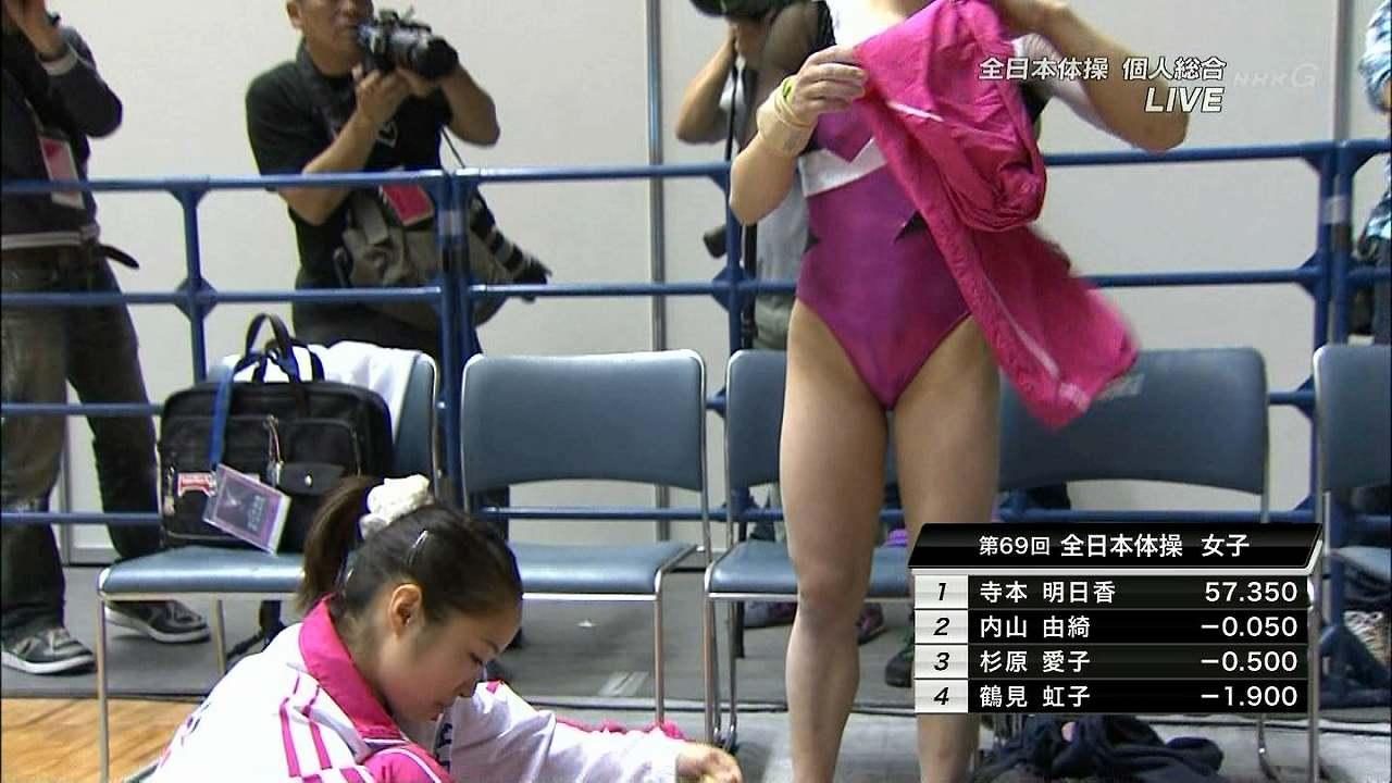全日本体操に出場した女子体操選手