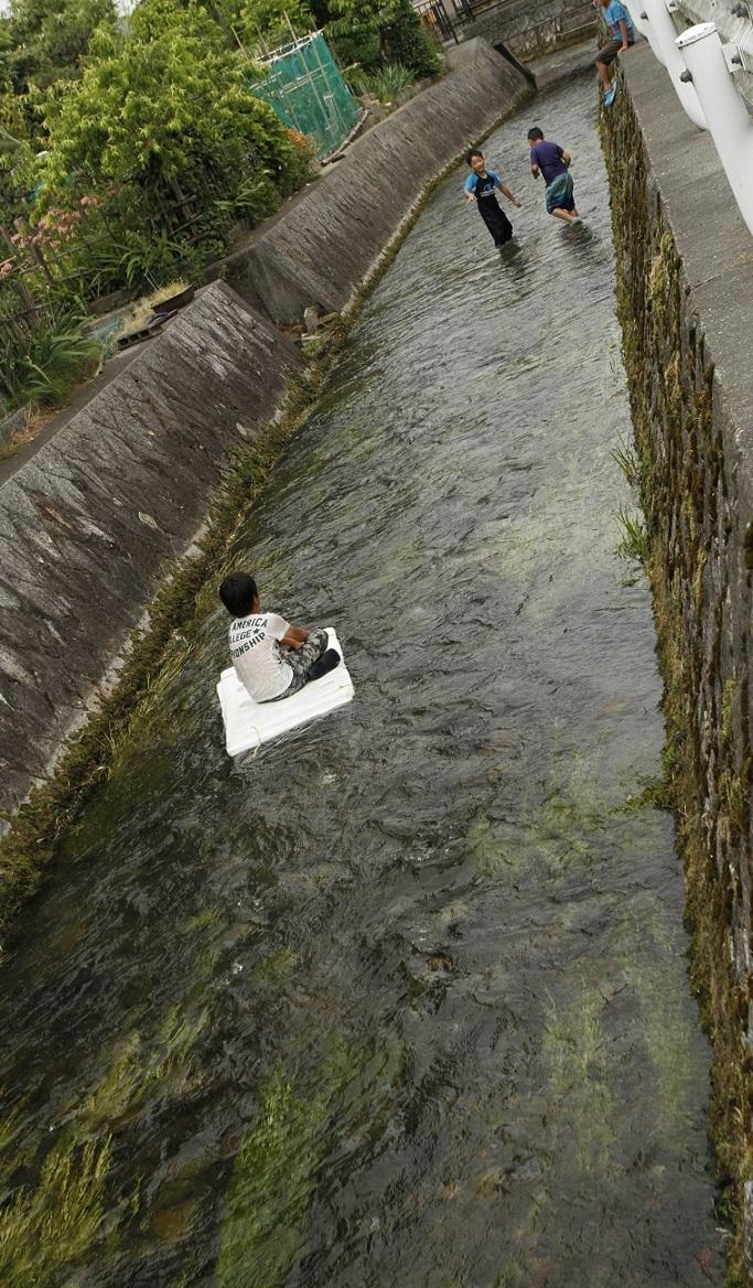 琵琶湖川遊び