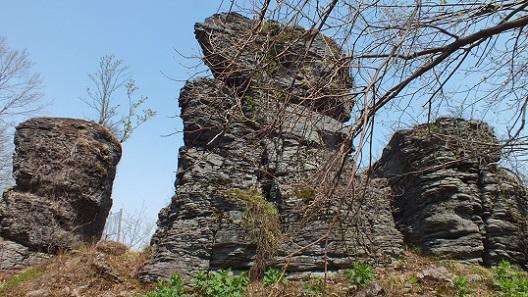 夫婦岩(和寒) (1)