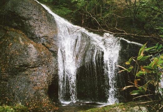 松倉川、白滝