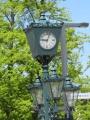 赤レンガ前街灯