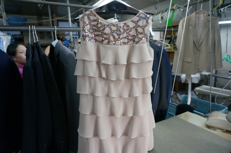 キレイ後のドレス