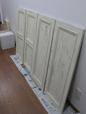 扉ペンキ塗り3