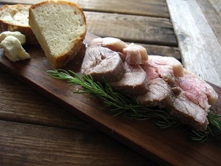 豚の香草塩釜焼2