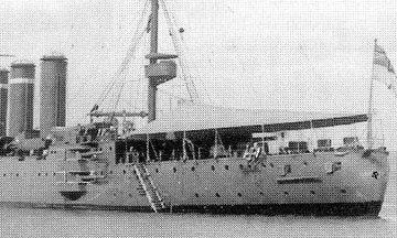 カーナヴォン船楼後部