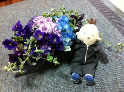 150613スマイルズからのお花