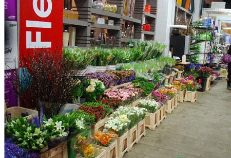 NY 花市場