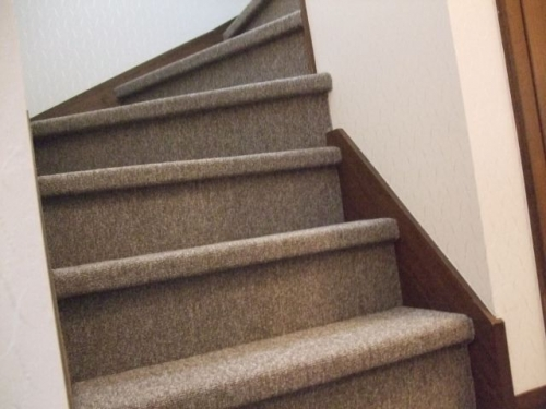 あごがある階段