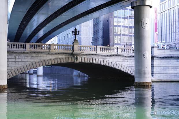 日本橋三越が見えるね♪