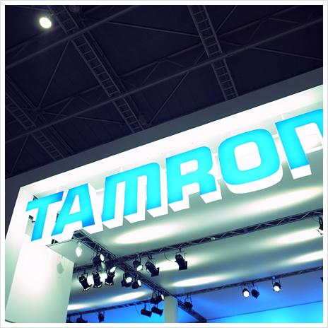 タムロンのブース