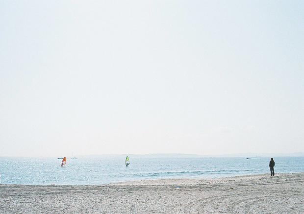 海を臨んで
