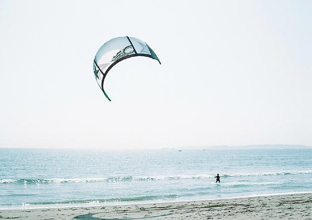 ウィンドサーフィンだった。