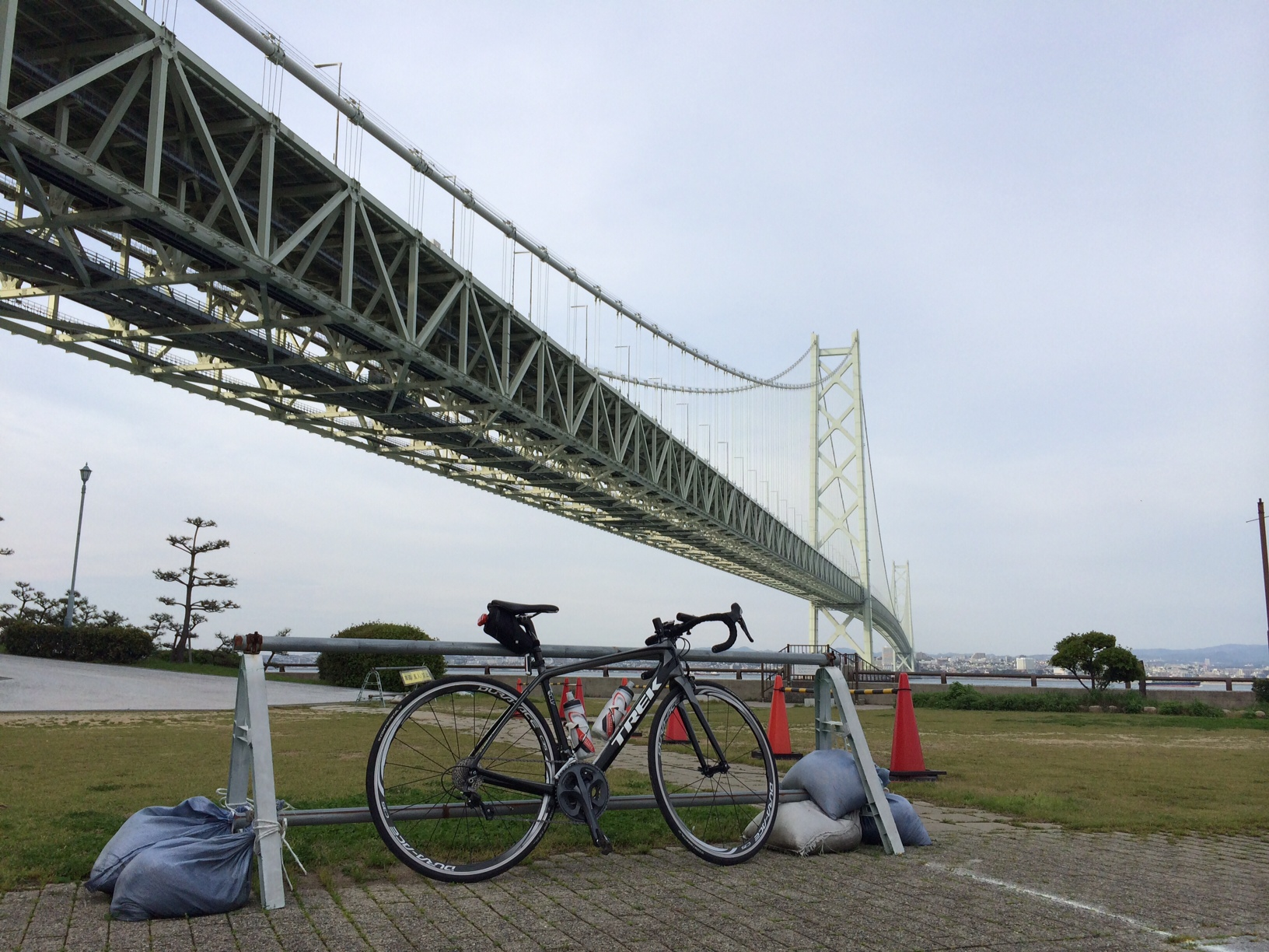 明石海峡大橋150421