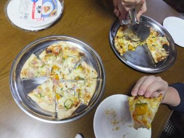 1月2日ピザ焼き2