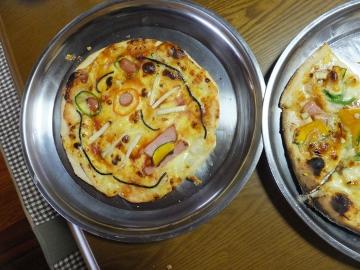 1月2日ピザ焼き5
