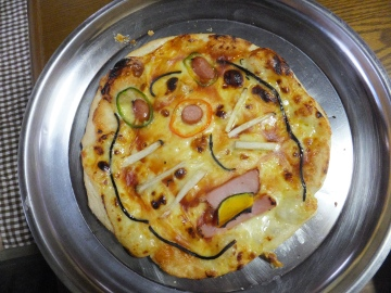 1月2日ピザ焼き6
