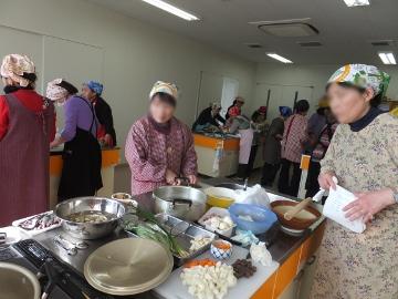 女性大学用料理試作