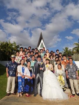 ハワイの結婚式7