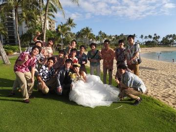 ハワイの結婚式9
