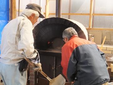 ピザ焼きの春6