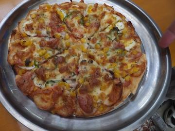もみまき、ピザ焼き14