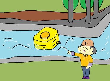 水タンクが