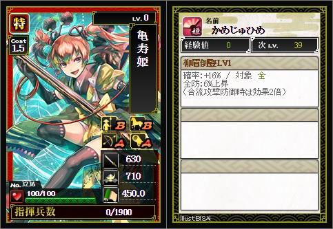 特 亀寿姫