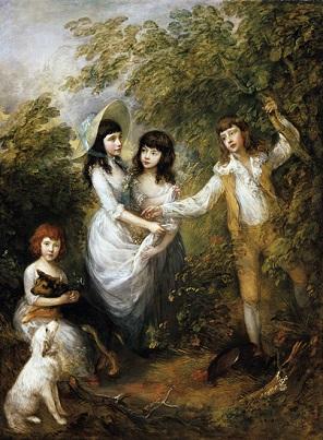 Thomas Gainsborough Die Marsham-Kinder, 1787