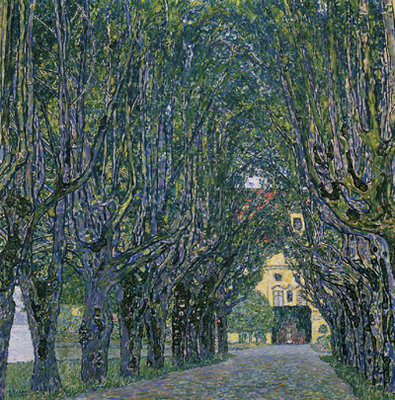 klimt Avenue to Schloss Kammer, c. 1912