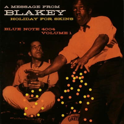 Art Blakey Holiday For Skins Vol.1 Blue Note BLP 4004
