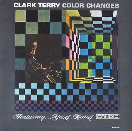 Clark Terry Color Changes Candid 8009