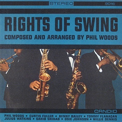 Phil Woods Rights of Swing Candid 8016