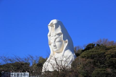 2015.1.5 大船観音 (大船:神奈川県鎌倉市)